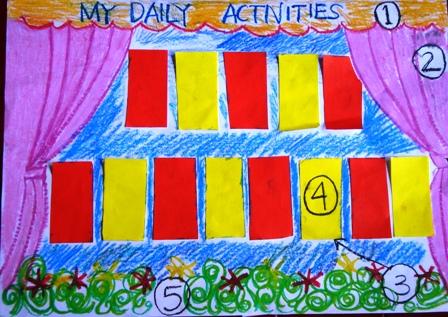 Pelatihan display untuk guru sekolah Arridho Jaktim6